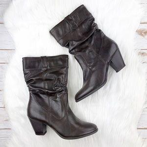 White Mountain Brown Boots